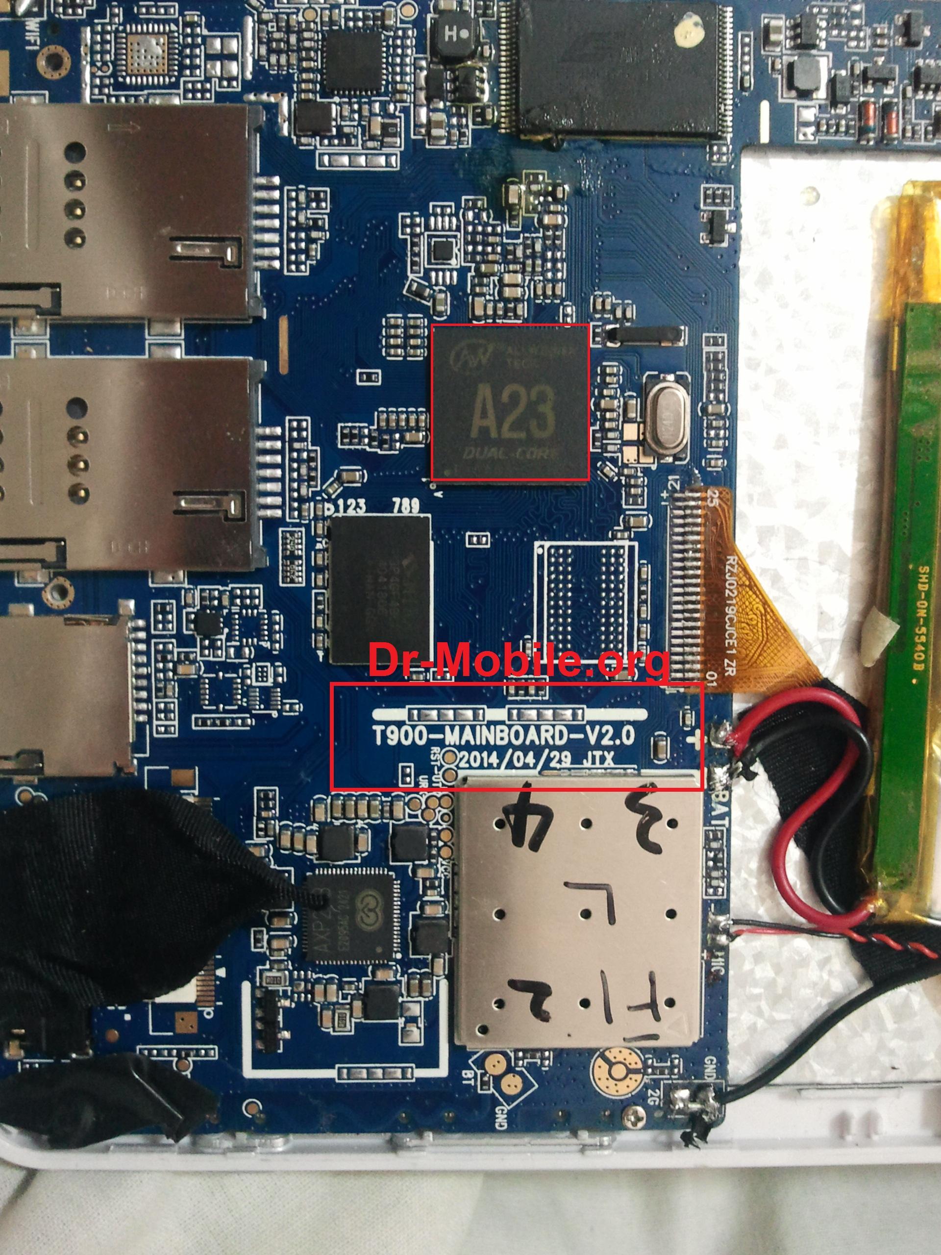 فایل فلش تبلت T900-MAINBOARD-V2.0 -20140429 JTX