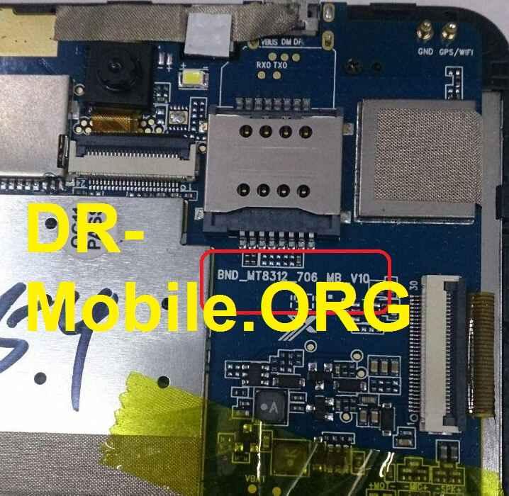 فایل فلش نایاب تبلت با ورژن برد BND-MT8312-706-MB-V10