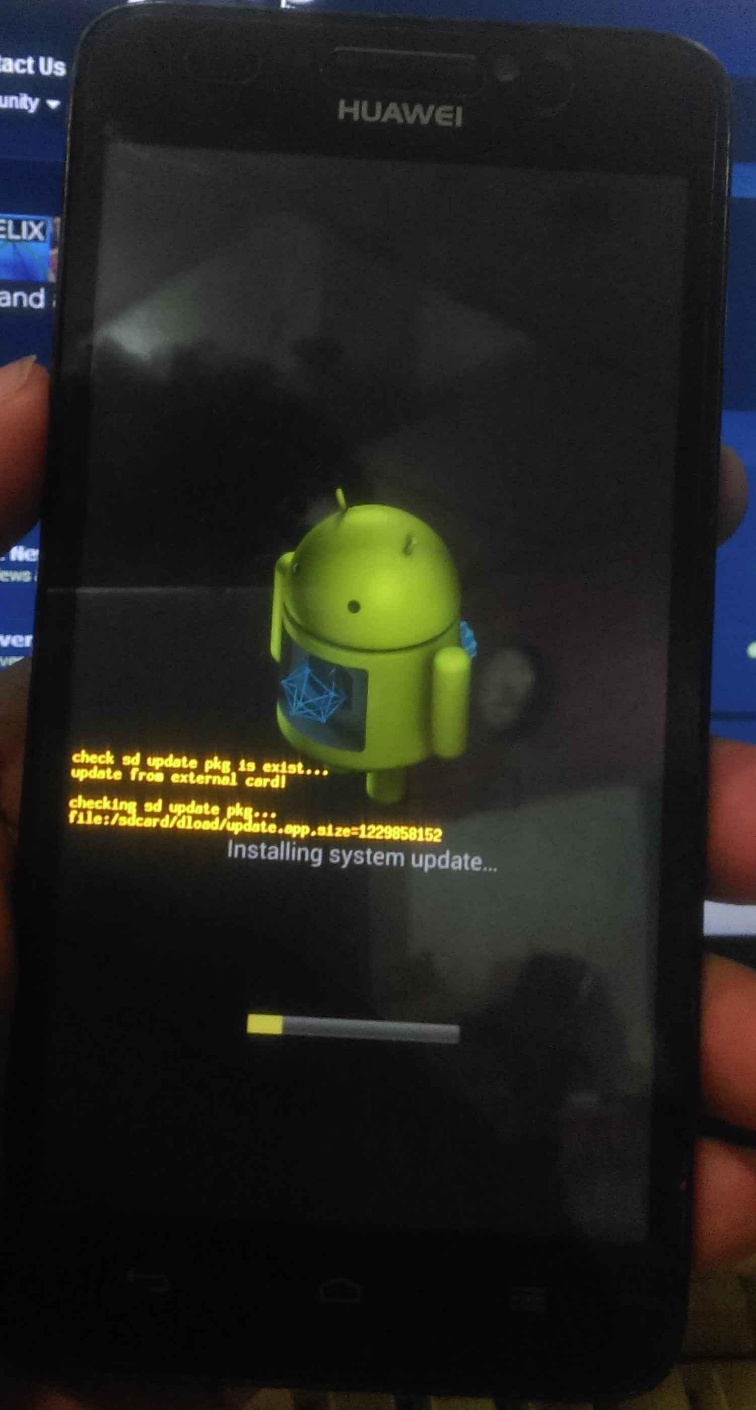 فایل حل مشکل آرم گوشی هواوی Huawei G630-U10