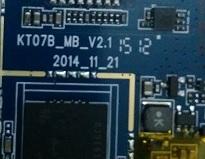 فایل فلش تبلت چینی با شماره برد KT07B-MB-V2.1 و چیپست MT6577