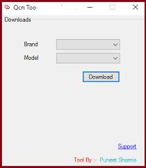 دانلود رایگان ابزار qcn برای دانلود فایل های qcn