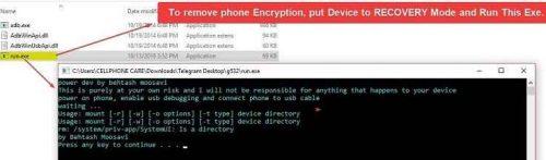 راه حل رمزگشایی پسورد گوشی های MTK سامسونگ پس از فلش با Eng patch