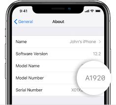 شناسایی کشوری که گوشی اپل آیفون را خریداری کردید برحسب شماره مدل