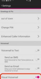 طریقه فعال کردن صندوق صوتی Voicemail در گوشی سامسونگ گلکسیS10