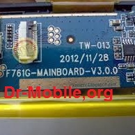 فایل فلش تبلت با شماره برد F761G-MAINBOARD-V3.0.0 A13 چیپست A13