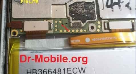 تست پوینت (Test Point) گوشی هواوی (P10 LITE (WAS-LX1